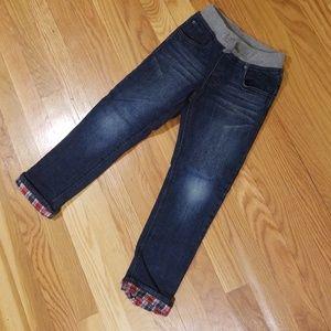 Fleece-Lined Jeans, boys sz 5T